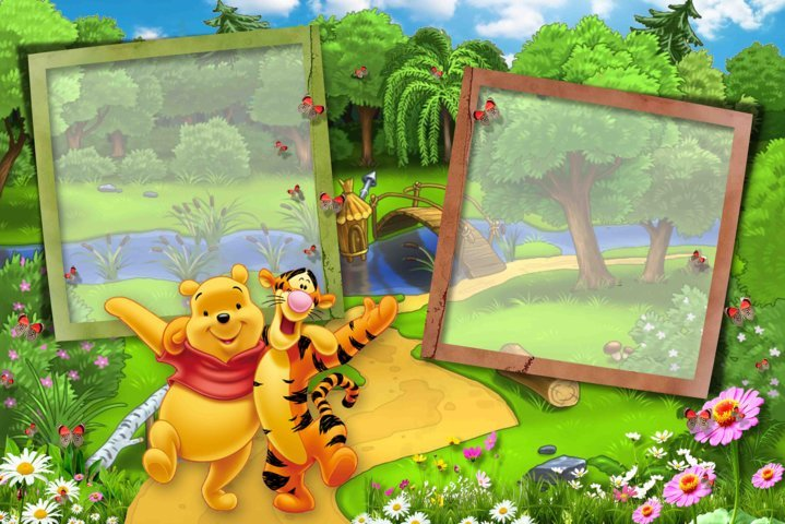 Name:  With Winnie and Tiger on the glade_by vkas vkas.jpg Views: 1192 Size:  92.4 KB